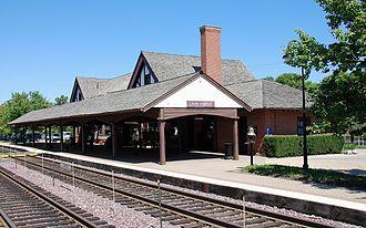 Frost & Granger - Image: Lake Forest Bahnhof