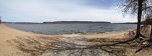 Florence Township, Goodhue County, Minnesota - Image: Lake Pepin Panorama