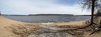 Lake Pepin - Image: Lake Pepin Panorama
