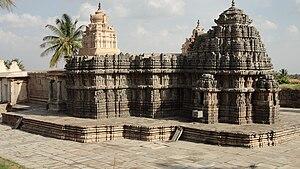 Lakshmi Narasimha Temple, Nuggehalli - Lakshmi Narasimha temple, view from northwestern corner