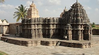 Lakshmi Narasimha Temple, Nuggehalli - Lakshmi Narasimha temple, view from northwestern corner