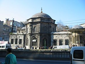 Laleli, Fatih - Tomb of Mustafa III on Ordu Street in Laleli