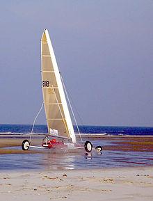 wind-powered vehicle