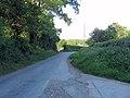 Lane at Mount Farm entrance - geograph.org.uk - 1332113.jpg