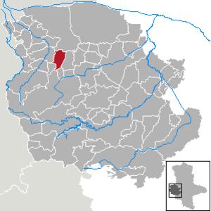 Langeln, Saxony-Anhalt - Image: Langeln (Nördlicher Vorharz) in HZ