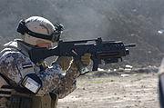 Latvian G36KV