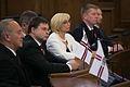 Latvijas Republikas proklamēšanas 95. gadadienai veltītā Saeimas svinīgā sēde (10923848634).jpg