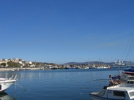 The port of Lavrio