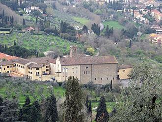 Peter Martyr Vermigli - The Badia Fiesolana, where Vermigli entered religious life