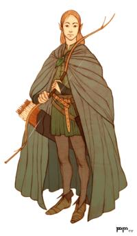 Legolas Greenleaf by Benjamin Drake.png