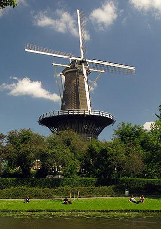 Leiden - Windmill museum De Valk