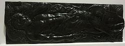 Jean Goujon: Français: Dalle funéraire d'André Blondel de Rocquencourt (mort en 1558), provenant de l'église des Filles-Pénitentes à Paris