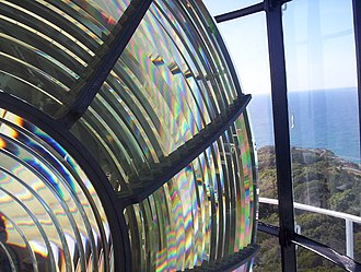 Cape Byron Light - The lens at Cape Byron Light