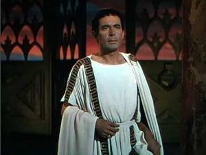 Quo Vadis (1951 film) - Screenshot of Leo Genn from the trailer for the film Quo Vadis