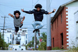 Les Twins - Image: Les Twins in Air SW