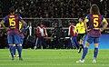 Lesión de David Villa en el Mundial de clubes 2011.jpg