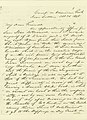 Letter from W.T. Sherman, Camp on American Fork, to My Dear Friend, October 28, 1848.jpg