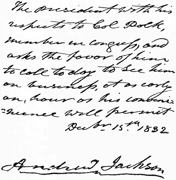 Letter of Andrew Jackson to James K. Polk.jpg