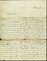 Letter signed J.J. Clarkson, Richmond, to General S. Cooper, February 29, 1864.jpg
