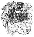 Lettres d'un Provençal à son épouse, 1867-Satyre Kaire.png