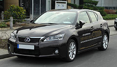Lexus CT 200h przed liftingiem