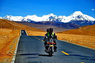 China National Highway 318 - Image: Lhakpa La pass 2 10