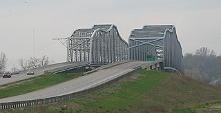 Liberty Bend Bridge bridge in United States of America