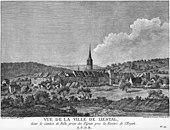 His birthplace Liestal in Switzerland (1780) (Source: Wikimedia)