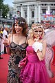 Life Ball 2014 red carpet 051 Amina Dagi Stephanie Meier-Stauffer.jpg