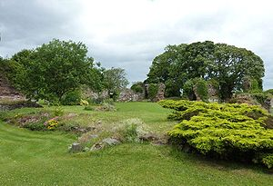 Lindores Abbey - Ruins of Lindores Abbey.