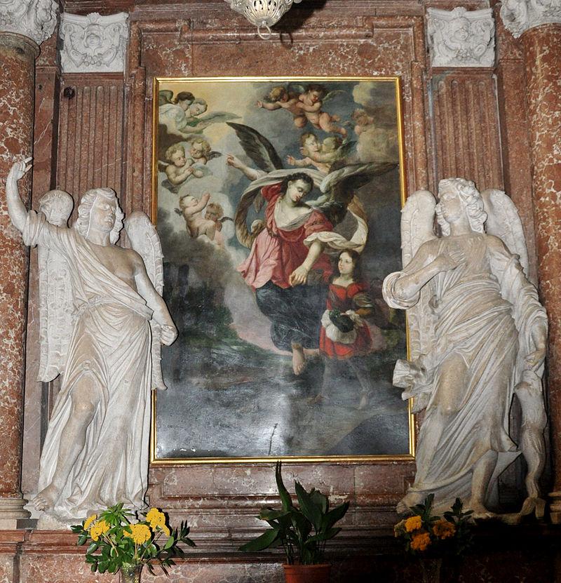 Linz Alter Dom Altar Schutzengelbild.jpg
