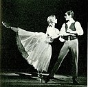 Lise la Cour and Peter Martins Stemninger 1963-crop.jpg