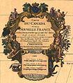 Lisle, Guillaume de — Carte du Canada ou de la Nouvelle France et des decouvertes que y ont ete faites... —Detail Cartouche.jpg