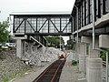 Littleton station pedestrian bridge.JPG