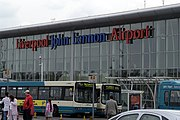 Liverpool John Lennon Airport entrance
