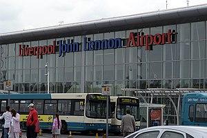Transport in Liverpool - Liverpool John Lennon Airport entrance