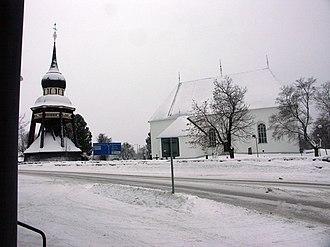 Ljusdal Municipality - Image: Ljusdalskyrka