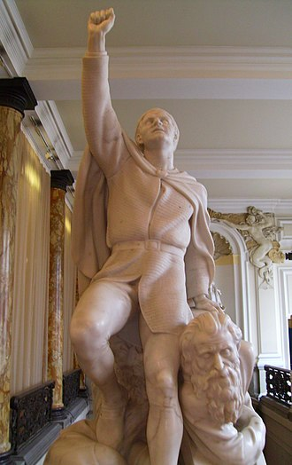 Prince of Wales - Image: Llywelyn the Last at Cardiff City Hall