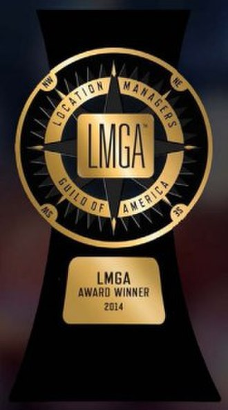 Location Managers Guild Awards - Image: Lmga statue