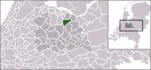 Lage Vuursche - Image: Locatie Baarn