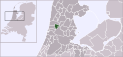 Location of Uitgeest
