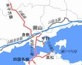 Location of Okayama St ja.png