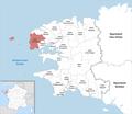 Locator map of Kanton Saint-Renan 2019.png
