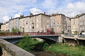 Lodève - The iron bridge in Lodève