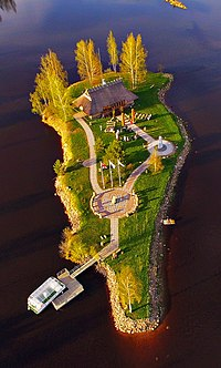 Lokstene Dievturi Shrine in Liepsalas, Klintaine Parish, Pļaviņas Municipality, Latvia.jpg