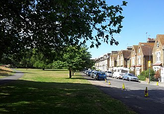 Plumstead Common - Image: London Plumstead, Plumstead Common, St Margareth's Grove