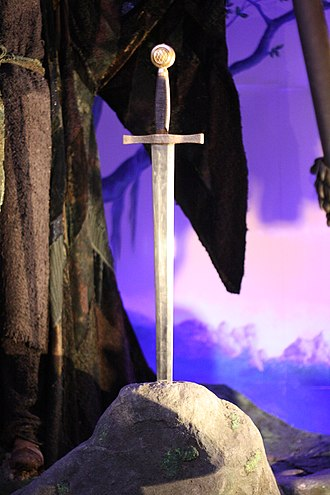 Excalibur (film) - The film's sword Excalibur at the London Film Museum