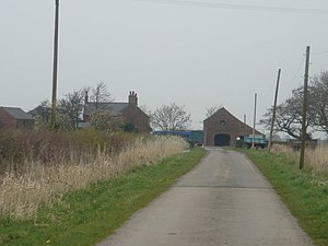 Much Hoole - Image: Long Fold Farm geograph.org.uk 158127