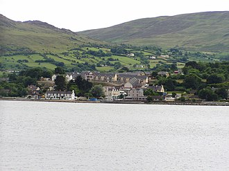 Omeath - Looking across Carlingford Lough to Omeath