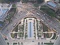 Looking down from SkyBridge of Petronas Twin Towers - panoramio.jpg